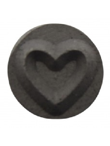 Metal stamp heart